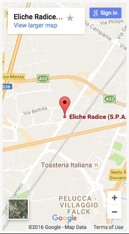 Uffici e produzione di Milano - Eliche radice